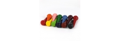 cone shaped wax crayons