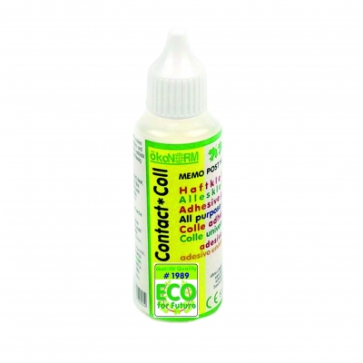 Contact Coll, all-purpose and pressure-sensitive adhesive, 50ml - ÖKO-TEST very good