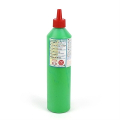 finger paint nawaro, 500ml bottle - green