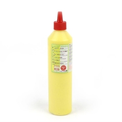 finger paint nawaro, 500ml bottle - yellow