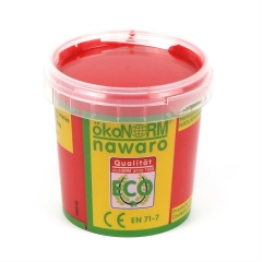 finger paint nawaro, 150g cup - red