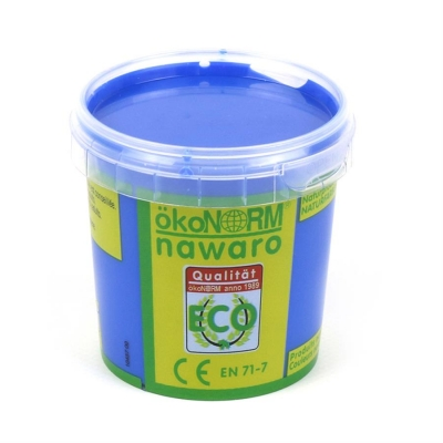 finger paint nawaro, 150g cup - blue