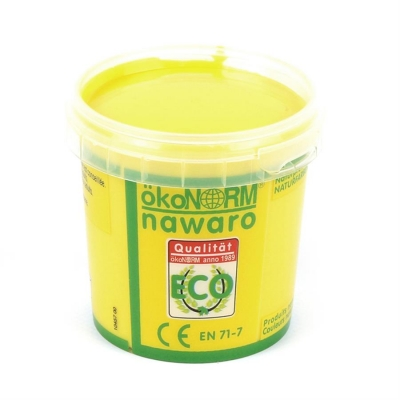 finger paint nawaro, 150g cup - yellow