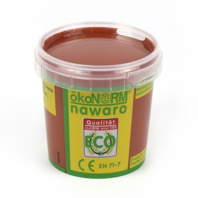 finger paint nawaro, 150g cup - brown