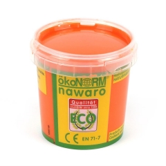 finger paint nawaro, 150g cup - orange