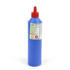 finger paint nawaro, 500ml bottle - blue