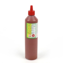 finger paint nawaro, 500ml bottle - brown