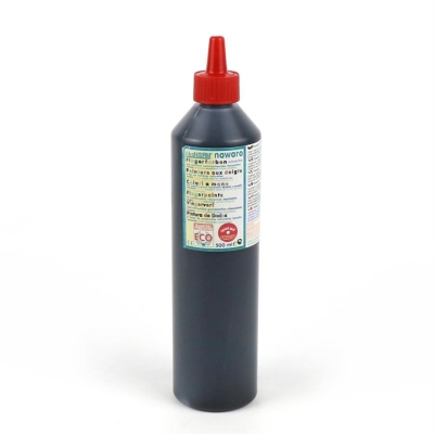 finger paint nawaro, 500ml bottle - black