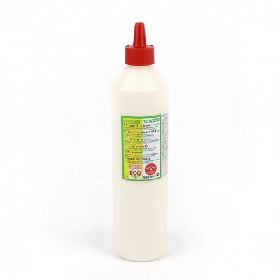 finger paint nawaro, 500ml bottle - white