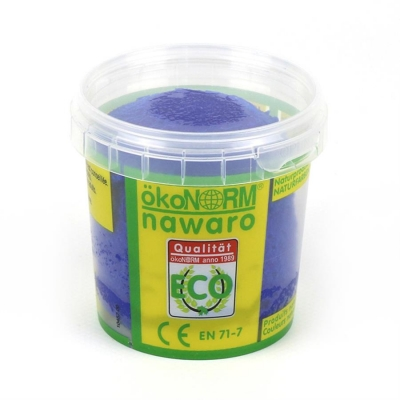 SOFT modelling clay nawaro, 150g cup - blue