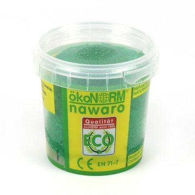 SOFT modelling clay nawaro, 150g cup - green