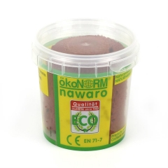 SOFT modelling clay nawaro, 150g cup - brown