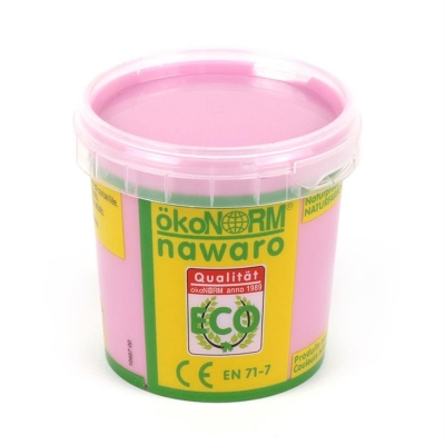 finger paint nawaro, 150g cup - rose