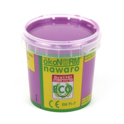 finger paint nawaro, 150g cup - violet