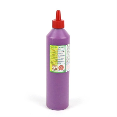finger paint nawaro, 500ml bottle - violet