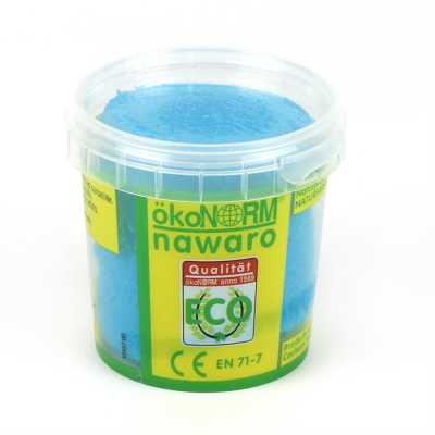 SOFT modelling clay nawaro, 150g cup - cyan